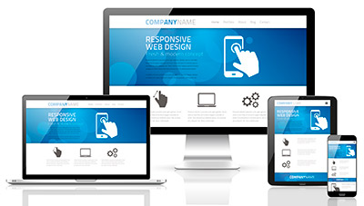 Website redesign includes responsive design according to Imagine, Inc.