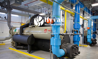 HVAC Company Website Design